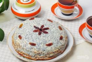 Блинный торт с кремом - фото шаг 9