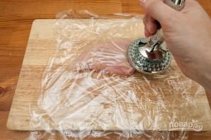 Филе грудки в духовке - фото шаг 1