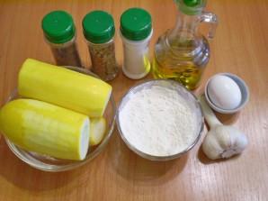 Тертые кабачки жареные - фото шаг 1