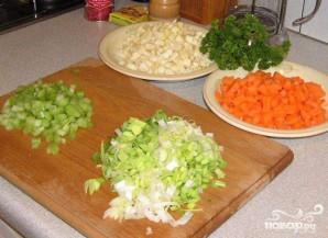 Зимний овощной суп - фото шаг 2