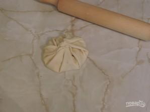 Лепешки с сыром на кефире на сковороде - фото шаг 10