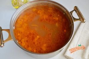 Суп с копченными ребрышками для согрева - фото шаг 6