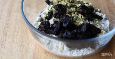 Пирог с сыром и черносливом - фото шаг 2