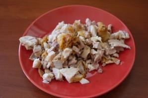 Пирожки с мясом и грибами - фото шаг 3