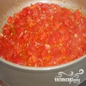Куриное филе в томатном соусе - фото шаг 3