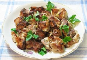Мясо в кефире в духовке - фото шаг 5