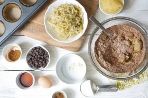 Шоколадные кексы с грушами - фото шаг 2
