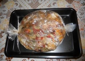 Курица с овощами в пакете для запекания - фото шаг 5