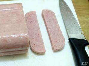 Роллы с колбасой - фото шаг 1