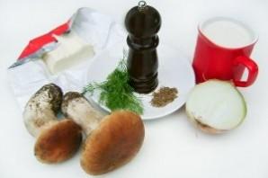 Подлива из белых грибов - фото шаг 1