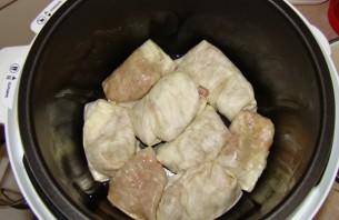Голубцы в скороварке рецепт пошагово с фото
