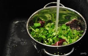 Салат с морскими гребешками - фото шаг 1