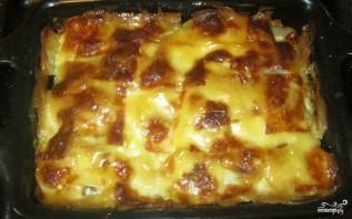 Картошка со свининой и сыром в духовке - фото шаг 9