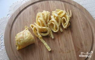 Салат из шампиньонов и яиц - фото шаг 4