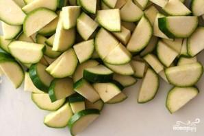 Тушеная фасоль с овощами - фото шаг 2