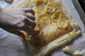 Лимонный пирог из слоеного теста - фото шаг 7