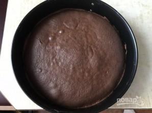Шоколадный пирог с манно-грушевым муссом - фото шаг 7