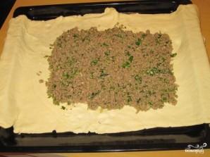 Слоеный мясной пирог - фото шаг 9