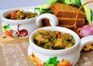 Армянский салат из печеных овощей - фото шаг 4