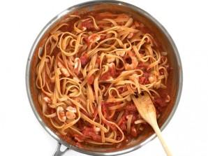 Итальянская паста с морепродуктами - фото шаг 6