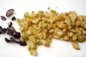 Тушеная фасоль с овощами - фото шаг 1