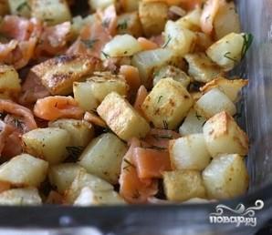Рыбная запеканка с картофелем - фото шаг 6