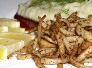 Кальмары с картофелем - фото шаг 6