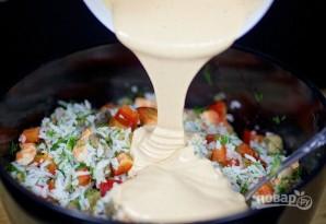 Салат с тигровыми креветками - фото шаг 10