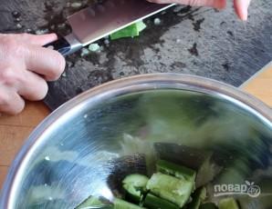 Огурцы в соевом соусе - фото шаг 3