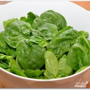 Салат из шпината, изюма и кедровых орешков - фото шаг 3