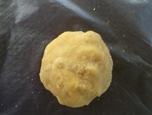 Пирог с зеленью и сыром - фото шаг 3
