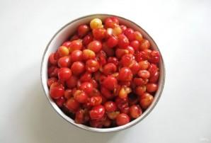Варенье из розовой черешни с ванилью - фото шаг 2
