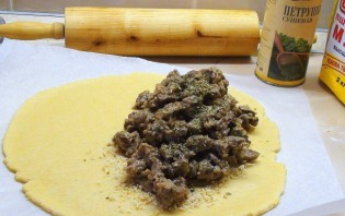 Пирог с почками - фото шаг 4