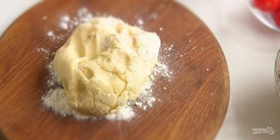 Открытый мясной пирог на картофельном тесте - фото шаг 1