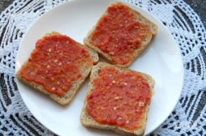 Бутерброды в микроволновке - фото шаг 1