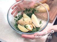 Картофель по-деревенски - фото шаг 4