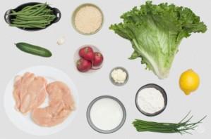 Салат с курицей - фото шаг 1