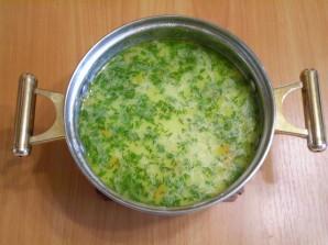 Рыбный суп с плавленым сыром - фото шаг 11