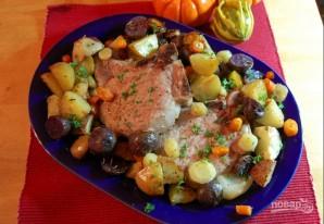 Жаркое из картофеля со свининой - фото шаг 4