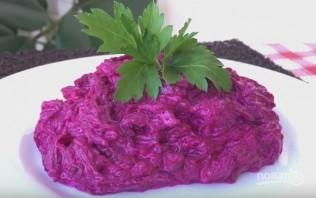 Салат из свеклы (просто, но вкусно) - фото шаг 7