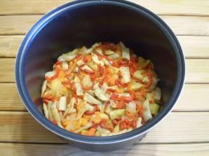 Рагу с фасолью - фото шаг 7