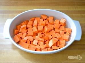 Тушеная картошка с курицей в духовке - фото шаг 3