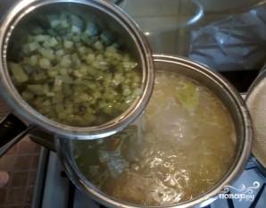 Суп c солеными огурцами - фото шаг 6