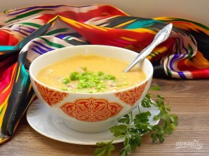 Гороховый суп-пюре туркменский - фото шаг 5