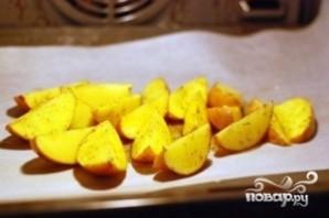 Картофель с зеленью - фото шаг 3