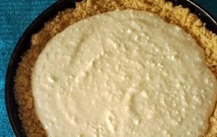 Песочный пирог с творогом - фото шаг 5