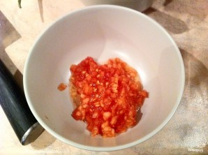 Котлеты с помидорами - фото шаг 5