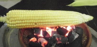 Запеченная кукуруза (на углях) - фото шаг 1