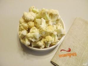 Цветная капуста в кляре с сыром - фото шаг 2