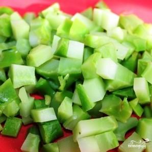 Сытный новогодний салат - фото шаг 14